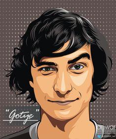 Gotye vector cartoon by anwarsz.deviantart.com on @deviantART