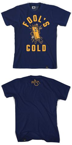 @AndyMineo 's #foolsgold tee!  #want