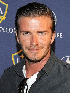 David Beckham! He's perfect, you know he is!