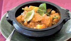 Chickpea, butternut and baby spinach curry Veg Recipes, Cooking Recipes, Spinach Curry, Recipe Search, Baby Spinach, Healthy Options, Healthy Eating, Dinner