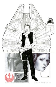 Star Wars #1 variant cover by Frank Cho *