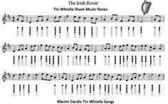 irish rover sheet music