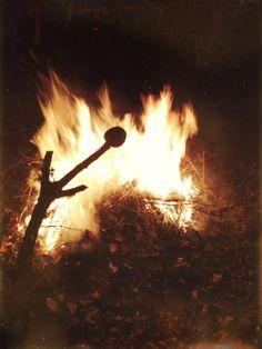 #bonfire #winter #photography #iphone #marshmallow