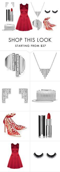 """""""Vintage Glamour"""" by buckleylondon on Polyvore featuring KOTUR, Alexander White, Givenchy, Emporio Armani and vintage"""