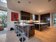 10 Ultimate Clever Ideas: Minimalist Home Modern Etsy classic minimalist interior sofas. Modern Kitchen Interiors, Luxury Kitchen Design, Luxury Kitchens, Interior Design Kitchen, Interior Office, Modern Kitchens, Dream Kitchens, Kitchen Designs, Minimalist Kitchen