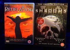 REVELATION (Terence Stamp) DVD / SHROOMS Extended Cut DVD - Horror