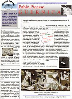 Les quichotteries de Delphine: HDA Dossier Guernica