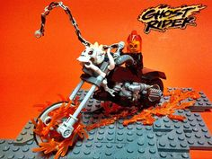how to get ghost riders bike in lego marvel superheroes