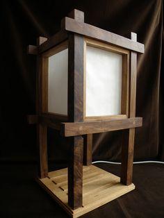 Shoji lamp #1
