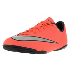 Nike Kids Jr Mercurial Victory V Ic Brightt Magenta/ Silver/ Trq Soccer Cleat