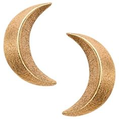 London Road Portobello Starry Night 9ct Rose Gold 3D Moon Earrings ($145) ❤ liked on Polyvore featuring jewelry, earrings, accessories, gold, rose gold earrings, star stud earrings, rose gold jewellery, rose gold stud earrings and pink gold jewelry