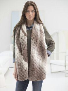 Diagonal scarf