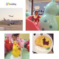 Instagram media 3ik10511 - 2014.09.25  旦那さん夏休みなので  これから心の故郷へ  旅立ちます⚐⚑⚐ 夏愛初フライト⊂( ˆoˆ )⊃ 楽しもうね!  #1歳2ヶ月 #1歳 #家族旅行#travel#旅#JAL#飛行機#羽田空港#ロディ#lody#ig_kids #ig_oyabakabu #vscokids #vscocam#なつめフォト #親バカ部