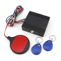 Motorcycle Bike IC Card Car Alarm Security induction invisible Immobilizer Lock - electronics.gosho...