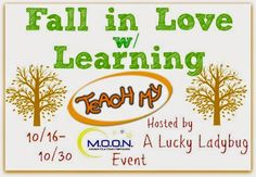 Win great learning kits for your little ones.  Fall in Love w/ Learning Giveaway Event - Heartbeats~ Soul Stains