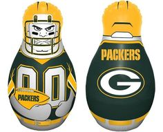 Green Bay Packers Tackle Buddy Punching Bag - New Style Z157-2324595716