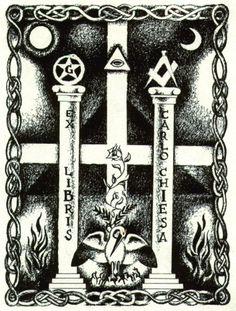 Italian Freemason Ex Libris