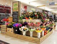 Innaloo Fresh Flowers Florist  #Retail #Interior #Design #Kiosk #Westfield…                                                                                                                                                                                 More