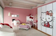 hello kitty style bedroom