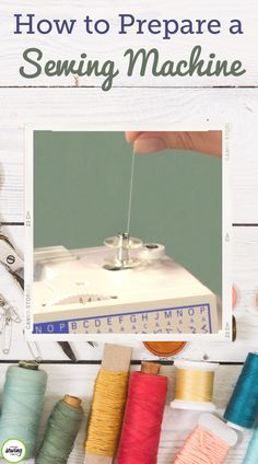 Watch this National Sewing Circle video for a demonstration of how to prepare a sewing machine properly before starting your next sewing project. Sewing Class, Sewing Basics, Sewing Hacks, Sewing Tips, Sewing Ideas, Learn To Sew, Learn Sewing, Sewing Circles, Sewing Accessories