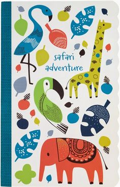print & pattern blog: PAPERCHASE advance PREVIEW Spring Summer 2015 - safari park
