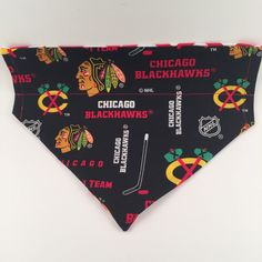 Chicago Blackhawks Over the Collar Dog Bandana