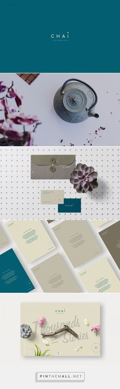Chai Branding by Paloma Avila | Fivestar Branding Agency – Design and Branding Agency & Curated Inspiration Gallery #design #branding #brand #designinspiration