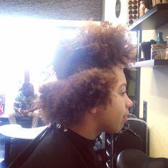Girl new haircut Before