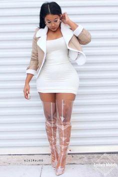 Gardens Discover Plus Size Fashion Skyrockets Fashion Killa Girl Fashion Fashion Looks Fashion Outfits Womens Fashion Latest Fashion Meagan Good Sexy Stiefel Estilo Fashion Curvy Outfits, Sexy Outfits, Sexy Dresses, Girl Outfits, Fashion Outfits, Womens Fashion, Latest Fashion, Fashion Fashion, Curvy Girl Fashion