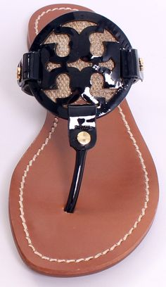 Tory Burch Logo Sandal ♥✤ | Keep the Glamour | BeStayBeautiful