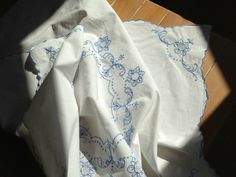 Antique Linen Tablecloth France  アンティーク テーブルクロス リネン フランス  http://mana-antique.com/
