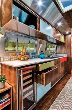 airstream kitchen - Google Search
