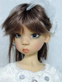OOAK Custom Sunkissed Miki MSD BJD by Kaye Wiggs...customized by Charlene Smith of Fireflies and Blossoms