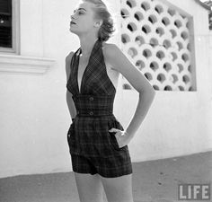 Vintage 1950s Playsuit