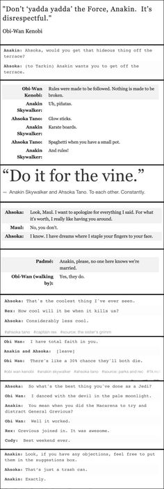 Oh my sweet mercy, this is the best set of quotes I've ever seen!
