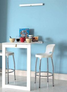 small kitchen table with stools | the bk lounge | pinterest