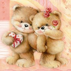 Cute Teddy Bear Pics, Teddy Bear Cartoon, Teddy Bear Pictures, Cute Bears, Tatty Teddy, Cute Images, Cute Pictures, Photo Ours, Valentines Day Bears