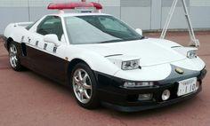 Vehículo de la Policía de Japón.