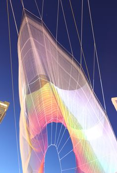 Gallery of Janet Echelman's Largest Aerial Sculpture To Premiere in Vancouver - 4