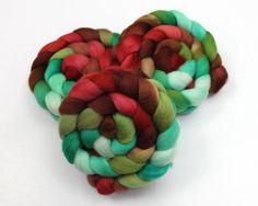 Polwarth Roving  Handpainted Felting or Spinning by woolgatherings, $18.00