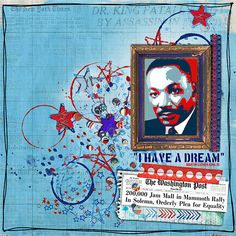 I have a dream... by paula kesselring at the Lilypad