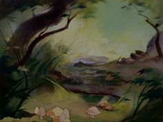 Animation Backgrounds: BAMBI