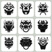 Korean Traditional Pattern Stickers Decorative Film Korean Goblin