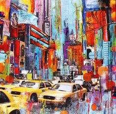 Canvas Print 36 large Print from my Original by jolinaanthony, $269.00
