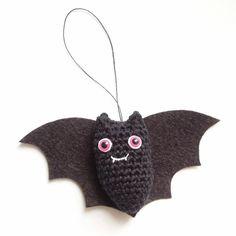 bat crochet pattern pdf quick and easy amigurumi vampire by Lybo, $3.50