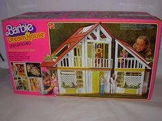 You just weren't cool in the 80's if you didn't have a Barbie dream house!