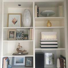 How to style a shelf #shelfie