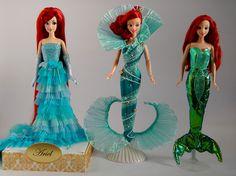 Disney Barbie Dolls, Ariel Doll, Disney Princess Dolls, Disney Animator Doll, My Princess, Disney Princesses, Beautiful Barbie Dolls, Cute Memes, Mermaid Art