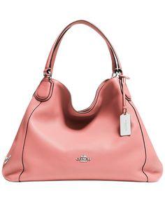 COACH EDIE SHOULDER BAG IN LEATHER - COACH - Handbags & Accessories - Macy's