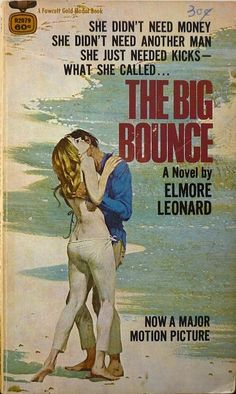 Elmore Leonard, The Big Bounce, paperback book cover